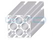 Alu-Profile Nut 8 60x60 schwer