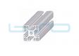 Alu-Profile Nut 8 40x40 leicht